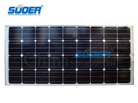 Suoer China supplier home Solar Panel 12V 18V 120w cheap solar panels china