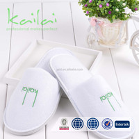 white waffle slippers use hotel/spa/home/airplane for women