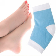 Silicone heel protective sleeve sock Foot Care horny calluses soften Crack socks