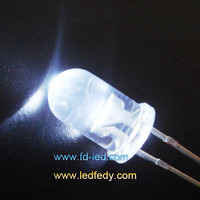 Best price 25000mcd 15degree Dip 5mm round White LED with Epistar chips
