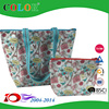 Organic cotton pvc coat tote bags wholesale