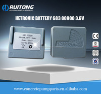 concrete pump parts Hetronic Battery 683 00900 3.6V for concrete pump concrete machinery parts