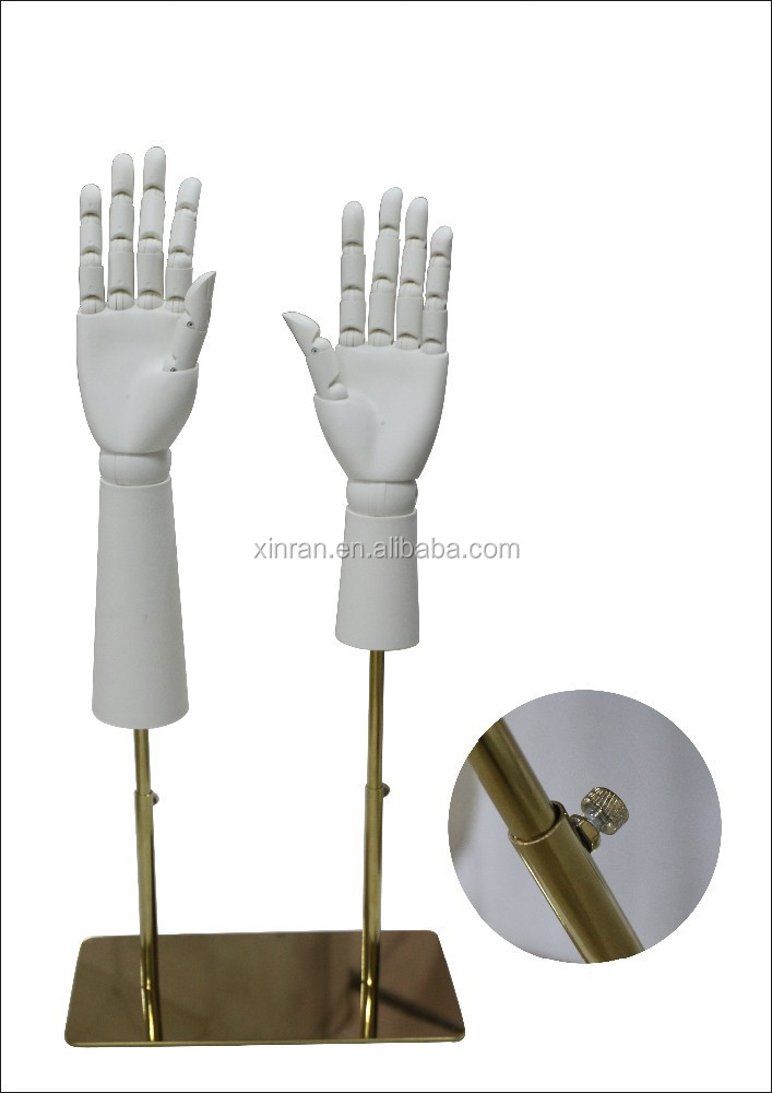 White Wood Hands Mannequin