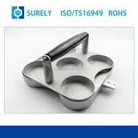 New Popular Quality assurance Surely OEM Stainless Steel anodized blue aluminum strong cover cap of cnc machining parts