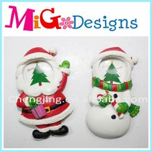 Wholesale Direct Factory Manufacture Polyresin Christmas Photo Frame W/ Fridge Magnet
