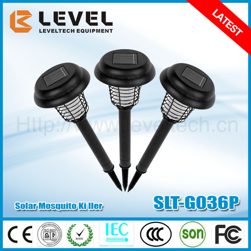 Wholesale 2pc Supper Brightness LED White+UV Plastic+Iron Lamp Electric Kills Mosquito