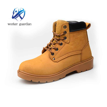 Fast lead time nubuck leather liberty good price safety shoes work shoes with steel toe