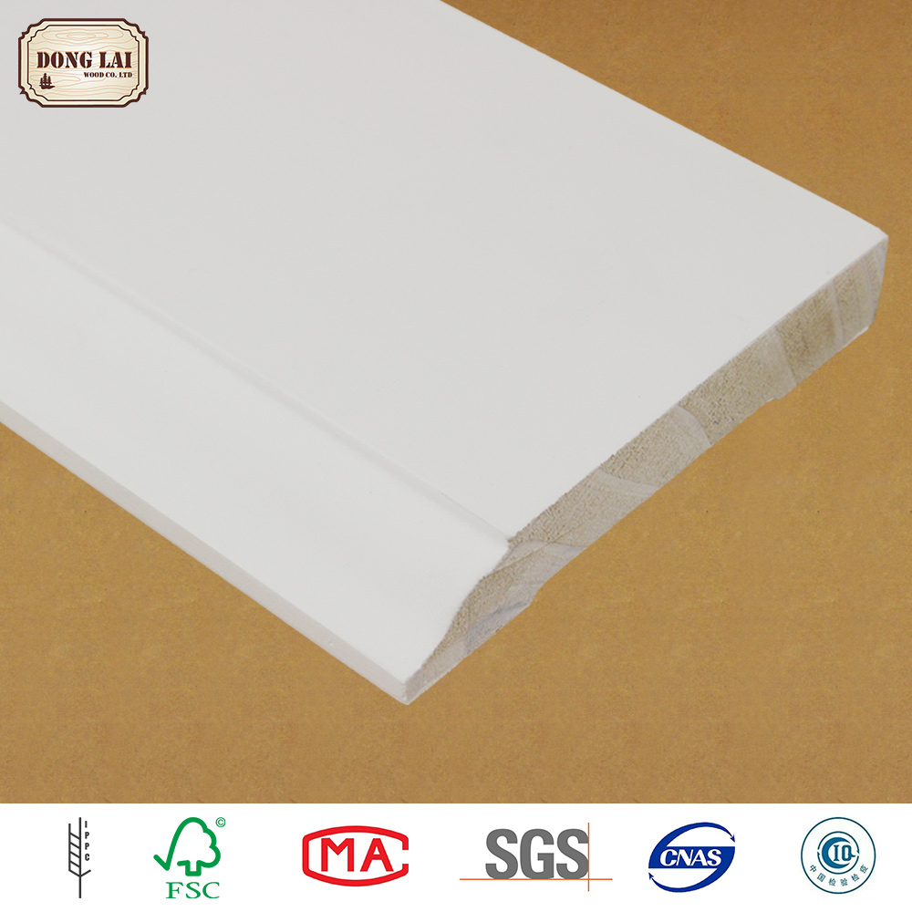Frame Building Material Wall Triangular Wood Moulding