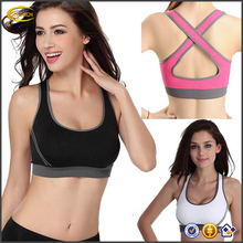 Ecoach hot sexy xxxx sports bra ladies fashion sexy summer fitness Gym Bralette wholesale sports bra