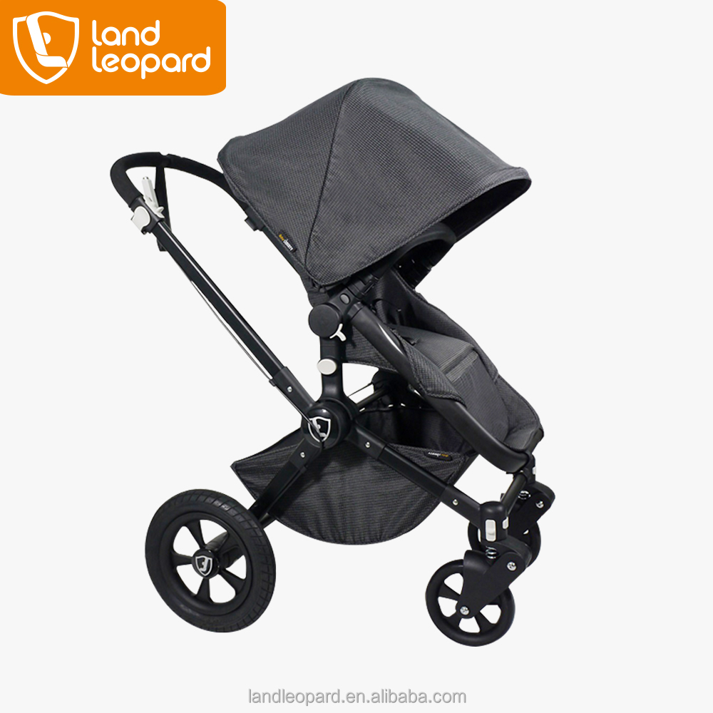 High-end Land Leopard baby stroller with high seeing seat to keep away from the car exhaust and dust,cimplied with EN1888:2012