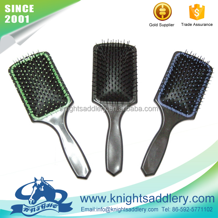 2016 Newest Hot Sale Plastic Brush Horse Hair Comb