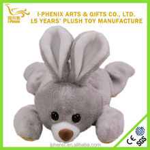 Hot design stuffed forest animals cute plush bunny rabbit lovely girl gifts 15cm plush bunny rabbit