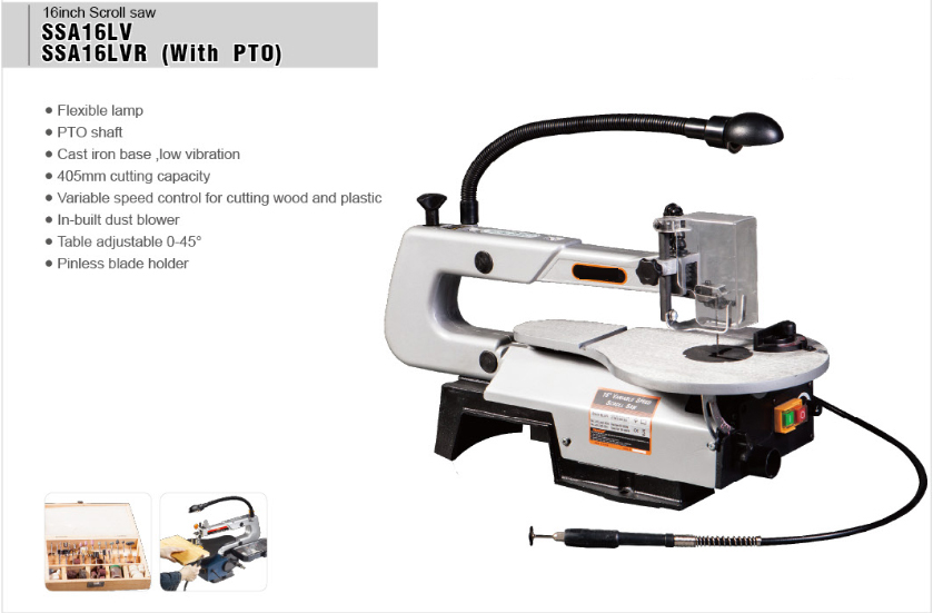 Professional mini SSA16LVR scroll saw machine