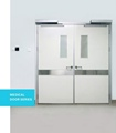 New condition metal door with factory price