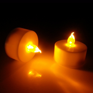 Wholesale high quality pillar tea light led candle for home