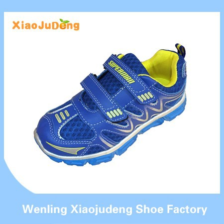 2015 Hot Sale Good Quality Kids Sport Shoe For Boy And Girl