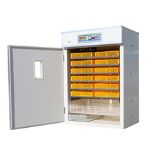 Fully automatic chicken egg incubator hatching machine