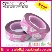 DIY decoration mobile used glitter decoration tape