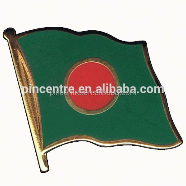Super qualitity hot sale bangladesh country flag badge