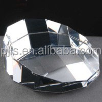 wholesale cheap blank glass paperweights