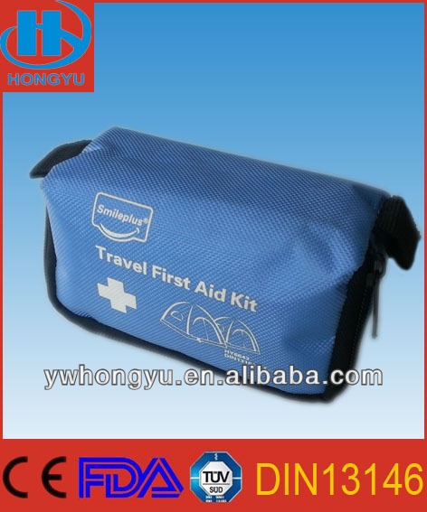 Mini lovely Nylon First Aid Kit For Travelling/Camping
