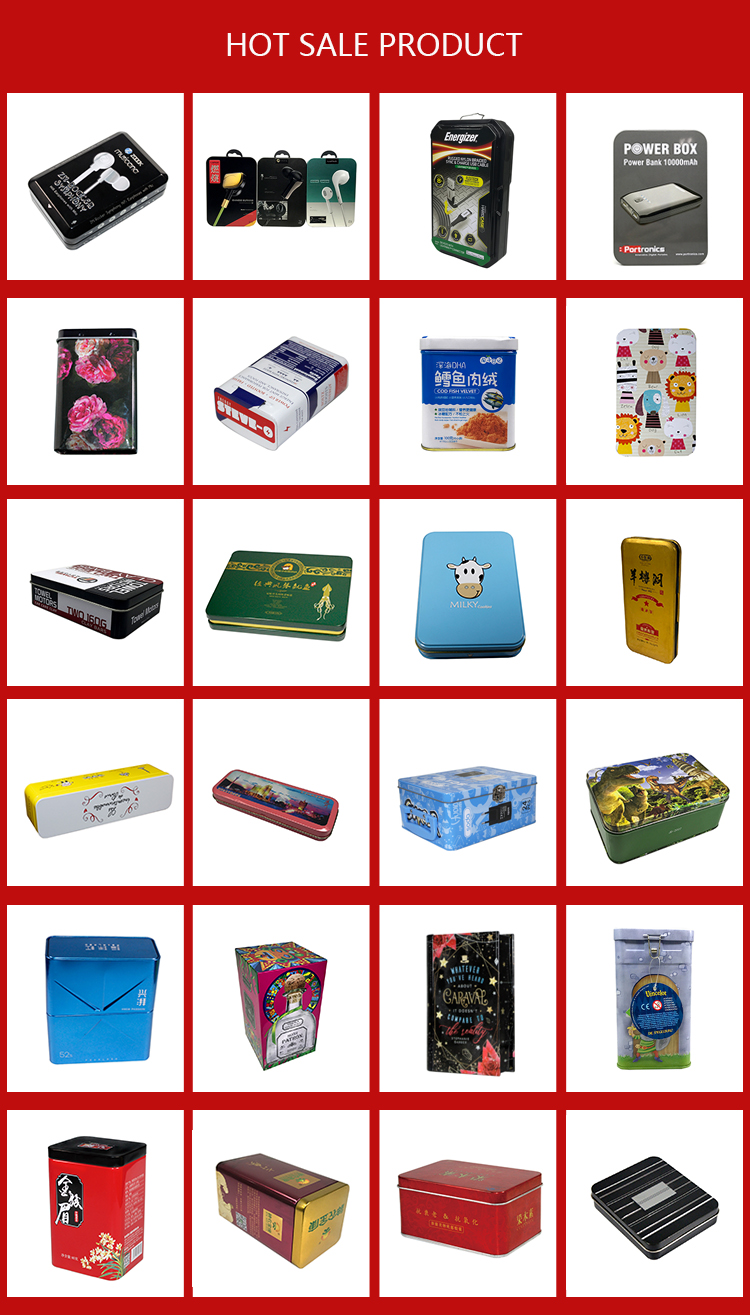 New Design Nice Price Mobile power tin box Boxes