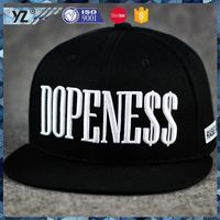 Hot selling top quality mens snapback hats made in china