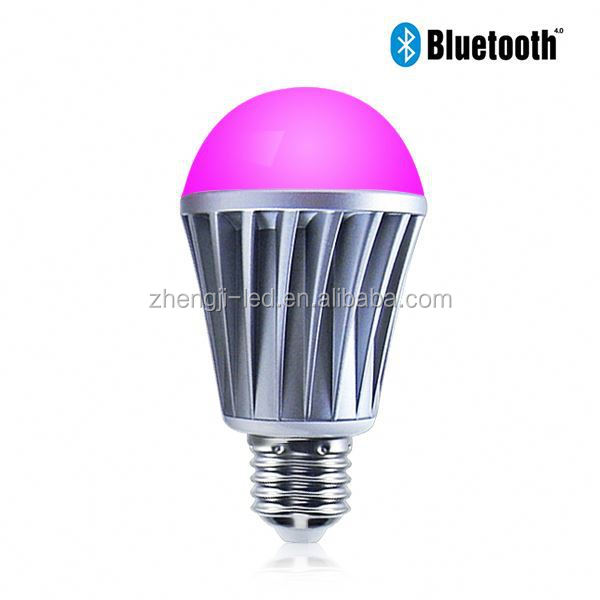 2015 hot new product,anion interior decoration led lamp led bulbs 11w pure white control by SmartPhone