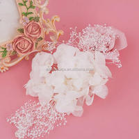 Top quality Beauty woman wedding bridal fascinator heaband wholesale hair accessory