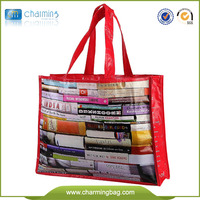Folding Recycle fabric pp Non woven bags manufacture China wholesale