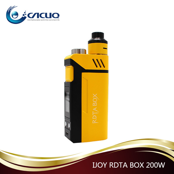 Wholesale IJOY RDTA BOX 200W Kit in stock 200W IJOY RDTA BOX MOD Authentic IJOY BOX 200W