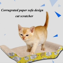 Crazy pet products wholesale scratching post corrugated cat