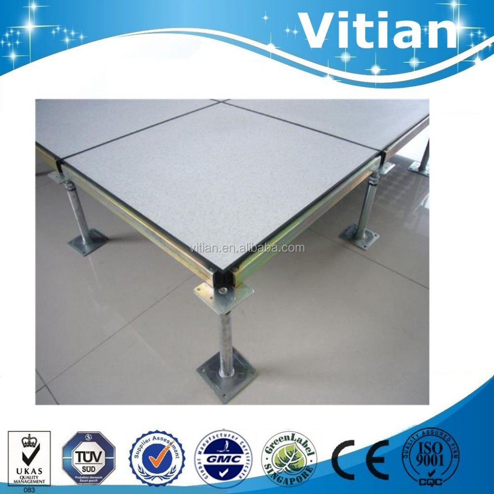 Vitian high loading capacity data center interactive steel raised access floor system