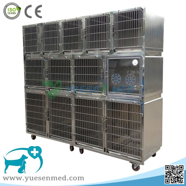 YSVET0510 high quality low price animal clinic cage pet kennel