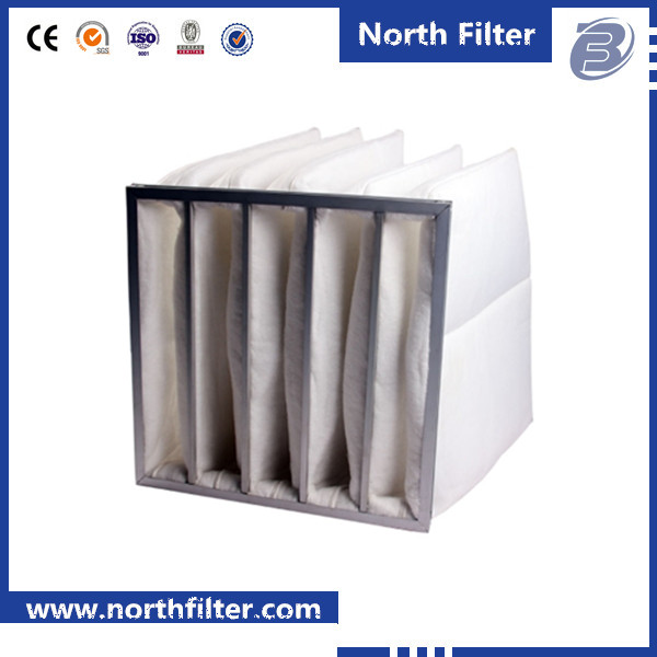 Filtration Group Pocket Air Filter, Moisture Resistant, Ultrasonically Welded Synthetic Media