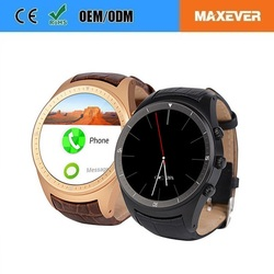 1.4 Inch IPS Touch Screen Android 4.4 3G WiFi mobile watch phones K18
