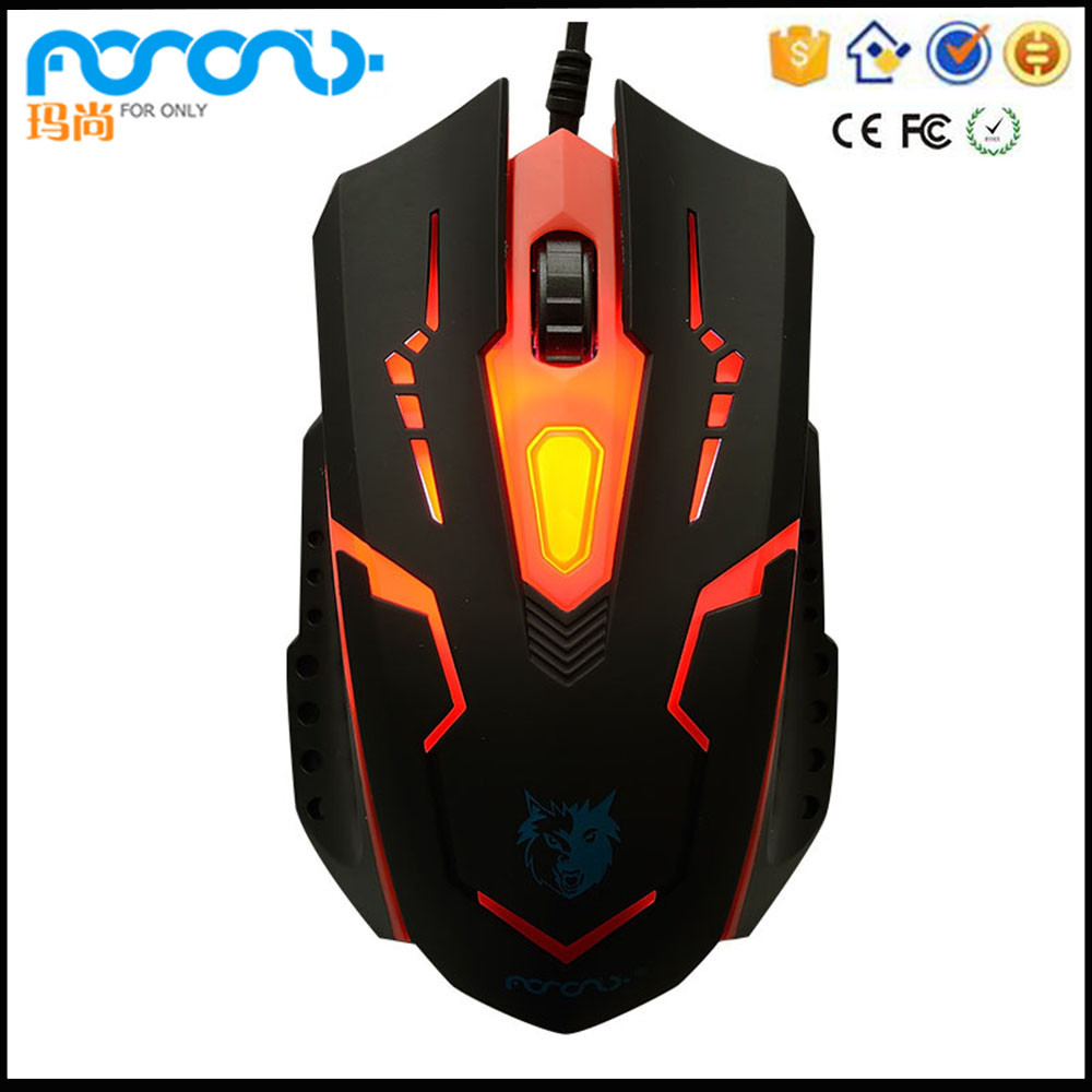 2400 DPI 2.4G Wireless Professional LED Light-up Gaming Mouse Mice for PC Laptop