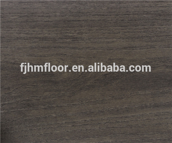 HM-1024 wooden look waterproof <strong>pvc</strong> flooring for living room