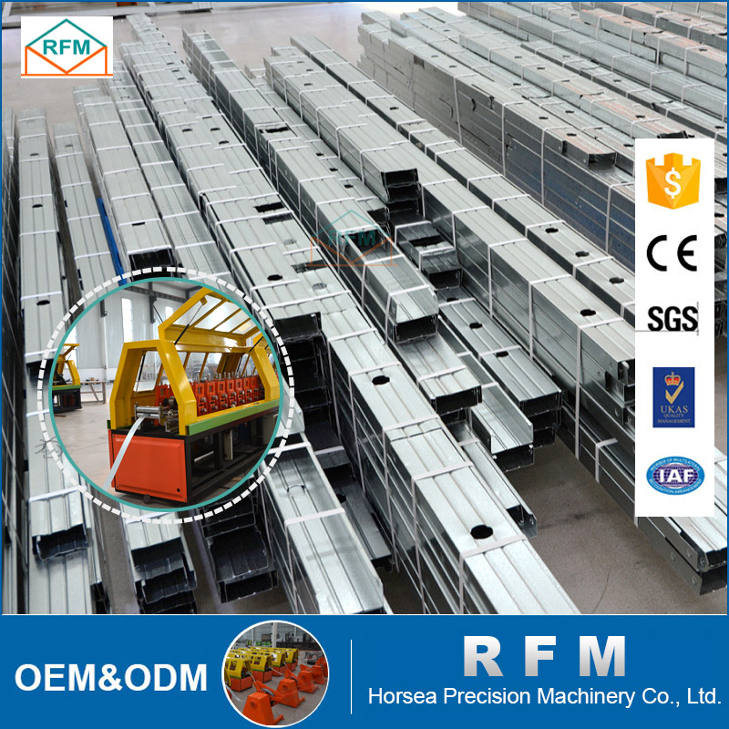 China supplier plate prefabricated steel structure frame warehouse villa house Office Workshop shop and Making Machine