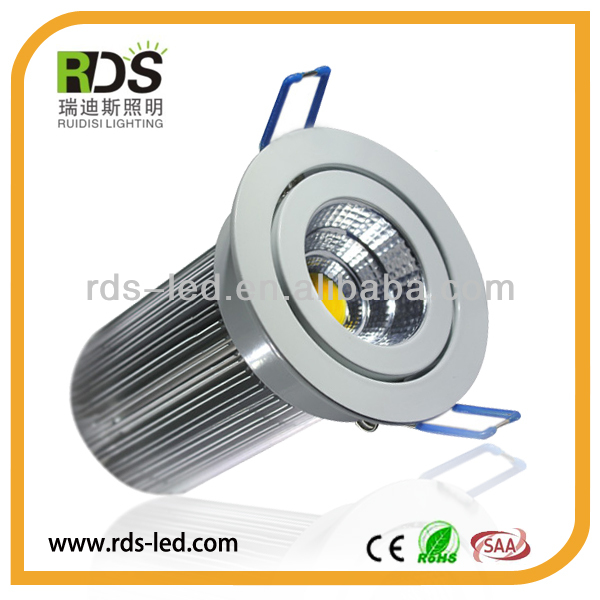 Factory price 90degree beam angle Ultralight Taiwan 1000lm housing 12w/13w 12w led downlight kits