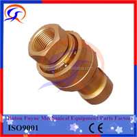 "Hydraulic Quick Release Couplings/ Hose Couplers/Brass 3/8"" hot sale"