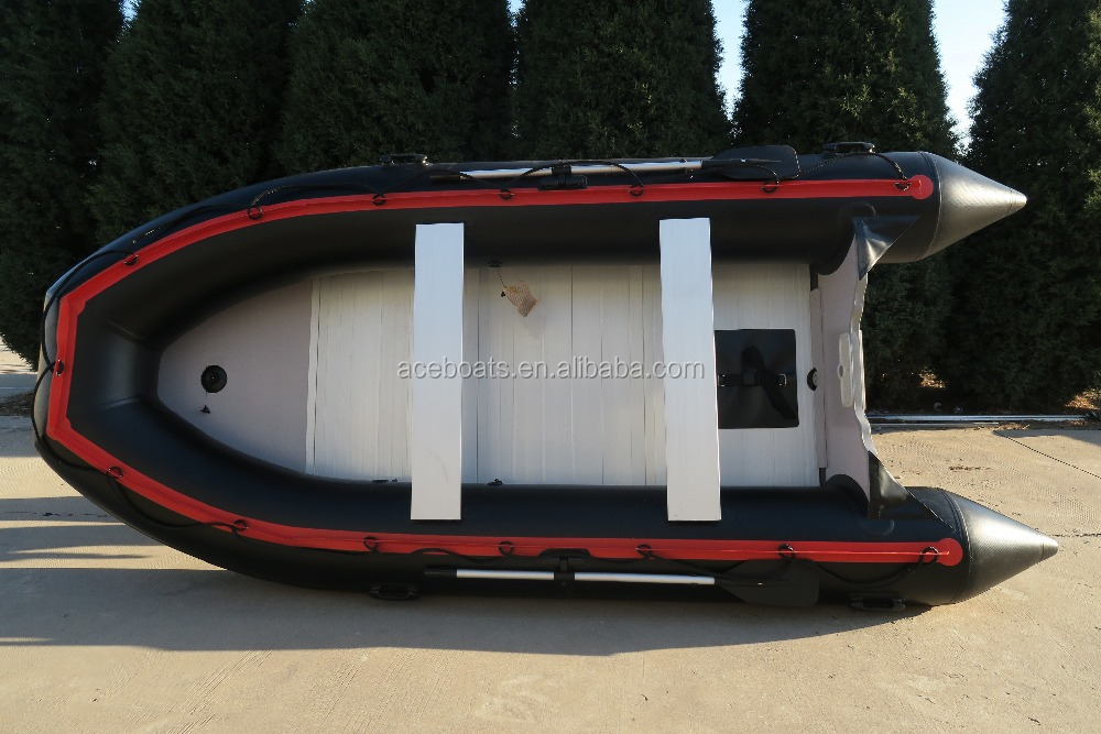 Zodiac new inflatable aluminium speed motor fishing boat ASD-420 from Weihai Ace boats for sale!!!