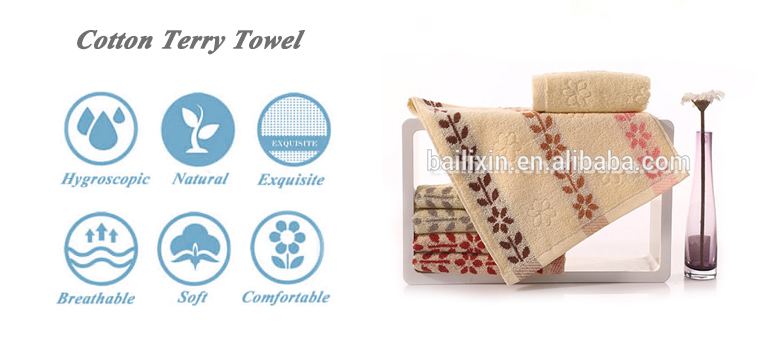 Latest high quality yarn dyed 100% cotton jacquard hand towel