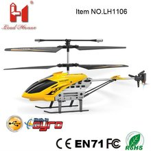 most popular alloy 3 CH remote control infrared sensor rc helicopter for sale