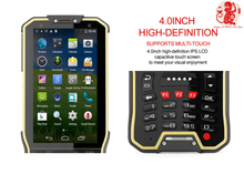 android 4.4.2 A7 Quad-Core 1.3GHZ Rugged wireless Android Handheld honeywell 1d bar code with 3G bluetooth GPRS