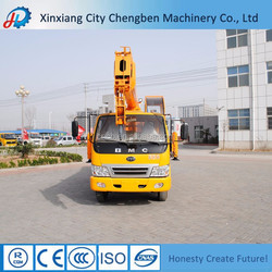 China light hydraulic Truck with Lifting Arm Crane 10 Ton