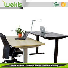 Ergonomic electric height adjustable sit stand desk