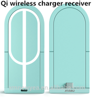 Xiabu Qi Wireless Charger Accept Receiver For Samsung Galaxy s4/s3 note2/note3