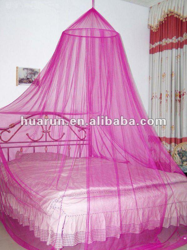 lit baldaquin rose chaud moustiquaire id du produit 500000413859. Black Bedroom Furniture Sets. Home Design Ideas