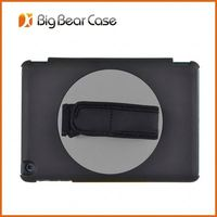 leather zip wallet smart case cover for ipad 3 & 2
